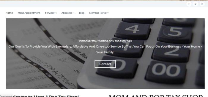 MomandPopTaxShop.com