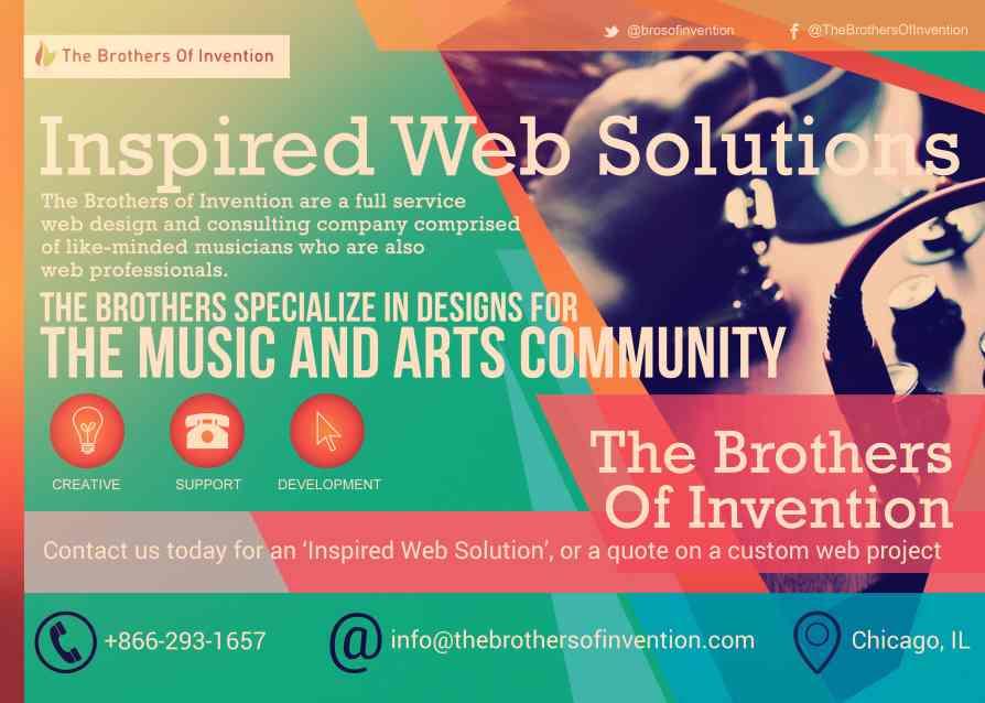 Web Design for Musicians
