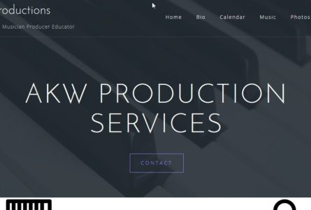 The Brothers Of Invention are proud to announce the launch of AKWProduction, official website for Kris Whitenack.