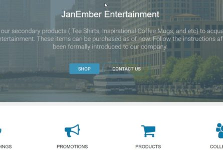 "JanEmber Entertainment has one major function which is to record original music and successfully promote it. The company consist of a conglomerate of writers, arrangers and producers collectively known as "" Red Line Cafe"". http://janemberentertainment.org/"