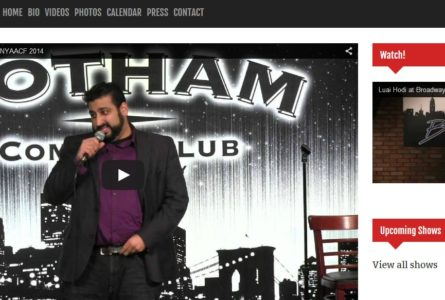 "The Brothers Of Invention are proud to announce the launch of LuaiHodi.com, our latest ""Inspired Web Solution"". Luai Hodi is a comedian in Chicago, IL and the surrounding areas. He performs Stand Up Comedy, Short and Long form Improv, and Sketch Comedy."