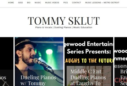 The Brothers OF Invention are proud to announce the launch of TommySklut.com, the newest member of the TBOI family. Tommy is one of Chicago's most entertaining pianist, vocalists and singer/songwriters.